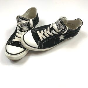 Converse Women's One Star Black Sneakers Size 9